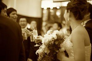 結婚式二次会のパーティーも